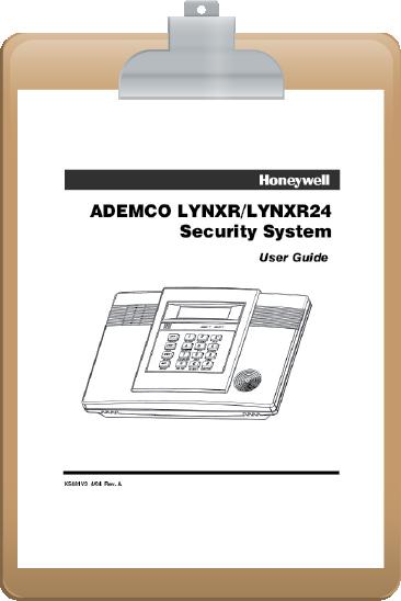 Lynx R24 Clipboard Fleenor Security