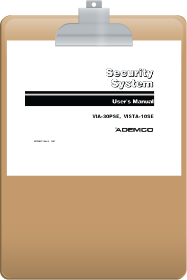 fleenor security system manuals rh fleenorsecurity com ademco vista 10se user manual Ademco Vista 100 User Guide