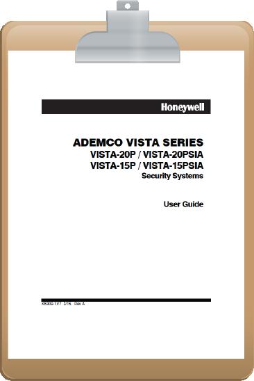 fleenor security system manuals rh fleenorsecurity com Ademco Vista 50P User Manual Ademco Vista 32Fb Programming